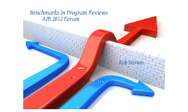 Benchmarks in Program Reviews