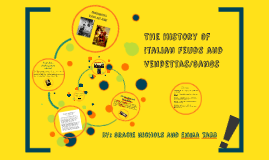 THE HISTORY OF ITALIAN FEUDS AND VENDETTAS/GANGS