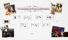 Los monstruos en el arte y la literatura