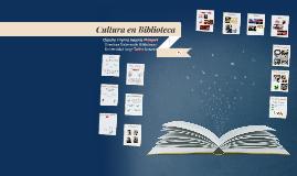 Cultura en Biblioteca