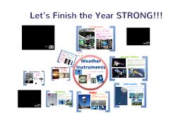 2017  Weather Instruments