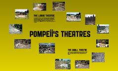 Pompeii's theatres