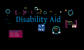 Copy of Disability Aid