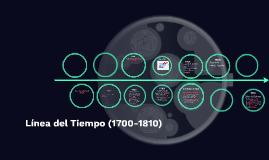 Línea del Tiempo (1700-1810)