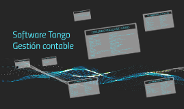Software Tango Gestion contable