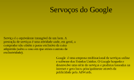TIC - Serviços do Google
