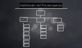 Copy of Habilidades del Psicoterapeuta