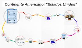 """Continente Americano: """"Estados Unidos"""""""