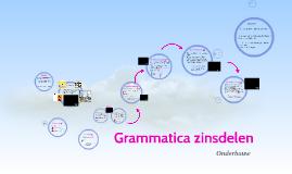 Grammatica zinsdelen