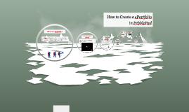 Copy of How to create an ePortoflio in PebblePad