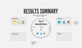 Copia di Results Summary