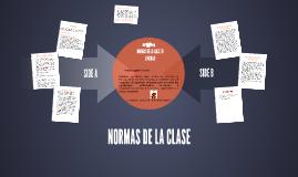 NORMAS DE LA CLASE DE LENGUAJE