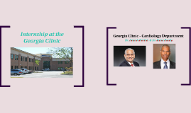 Internship at the Georgia Clinic