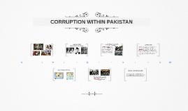 CORRUPTION WITHIN PAKISTAN