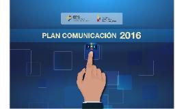 Plan de comunicacion 2016