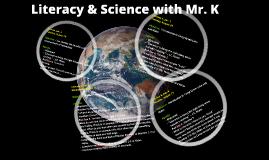 Mr. K's agenda