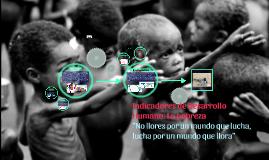 Índice de Desarrollo Humano (IDH)