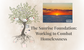 The Sunrise Foundation: Working to Combat Homelessness