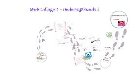 Copy of Onderwijskunde 1 - werkcollege Missie en Visie