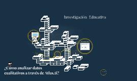 Atlas.ti para análisis de datos cualitativos