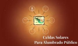 Celda Solare Para Alumbrado Público