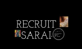 Recruit Sarai