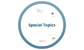 ComD 438 Special Topics