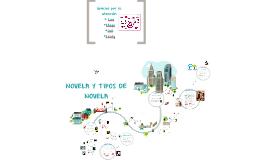 Copy of NOVELA Y TIPOS DE NOVELA