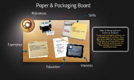Paper & Packaging Board
