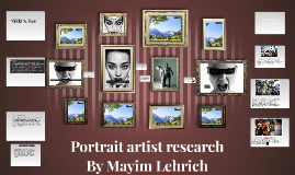 Portrait artist research