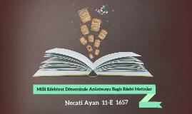 Copy of Literature