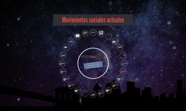 Movimientos sociales actuales