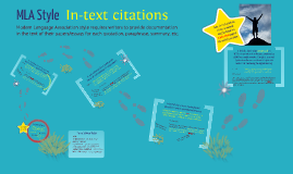 Beginner MLA Style (in-text citations)