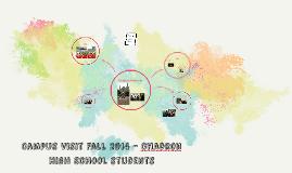 Campus Visit Fall 2014 - chadron