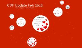 CDF Update Feb 2018