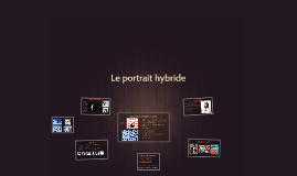 Le portrait hybride