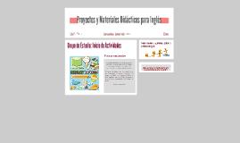 Proyectos y Materiales Didácticos para Inglés