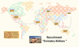 "Copy of Recruitment ""Emirates Airlines """