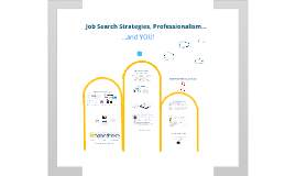 Job Search Strategies, Professionalism, and YOU