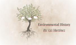Environmental History