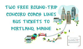 TWO FREE ROUND-TRIP BUS TICKETS TO