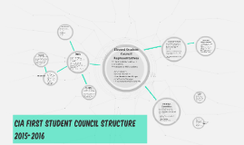 CIA FIRST Student Council Structure