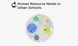 Human Resource Needs in Urban Schools