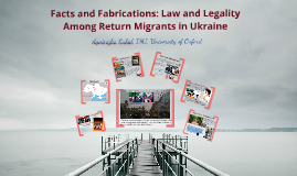 Law and Legality among Return Migrants
