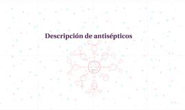 Descripción de antisépticos