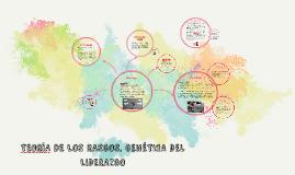 TEORíA DE LOS RASGOS. GENÉTICA DEL LIDERAZGO
