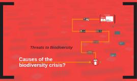 biodiversity crisis causes