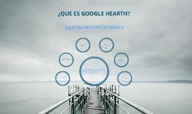 ¿Que es google hearth?