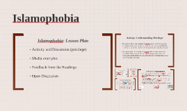 ARA2150: Islamophobia