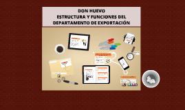 Copy of ESTRUCTURA Y FUNCIONES DE UN DEPARTAMENTO DE EXPORTACIÓN